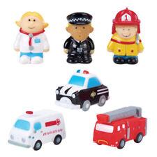 KuKu Bath Toy Set - Occupations and Vehicles