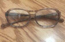 Vintage Eyeglasses Liberty Usa Kp-1 Grayish Plastic Frame Rx lenses 45▫�15 130