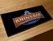 Personalised Beer Label bar runner Pubs & Cocktail Bars Bar Mat