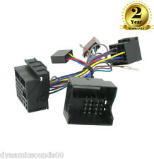 CT10PE01 Parrot SOT T-Harness Adaptor ISO Wiring Lead For Peugeot 307 2005>