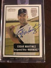 2017 Topps Archives Signature Edgar Martinez 7/10