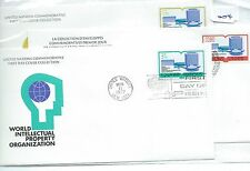 wbc. - UNITED NATIONS - FIRST DAY COVERS - FDC -004- 1977  INTELLECTUAL PROPERTY