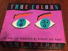 Vintage 1990 True Colors Board Game. 100% Complete! Unused. EXCELLENT.