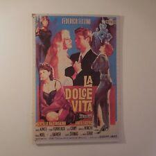 Puzzle reproduction affiche poster LA DOLCE VITA FEDERICO FELLINI