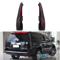 VLAND LED Tail Lights Lamps For Cadillac Escalade 2007-2014 Rear Light Assembly