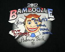 2012 Bamboozle Foo Figthers Bon Jovi Asbury Park NJ Rock Concert T-Shirt New LG