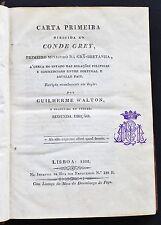 1832 Portugal Affairs with United Kingdom - America Brazil Africa Asia