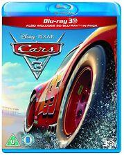 Cars 3 3D (Blu-ray 2D/3D) DISNEY!! BRAND NEW!!