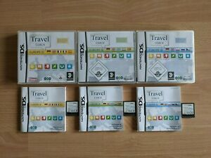 Travel Coach Europe 1 - 3 Nintendo DS Spiele NDS