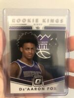 2017-18 Donruss Optic Rookie Kings #5 De'Aaron Fox RC Sacramento Kings NBA - QTY