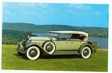 1929 Packard Deluxe Eight 6-45 Sport Phaeton (nice post card (autoB#279