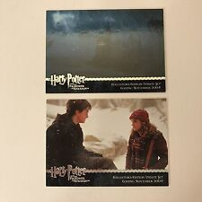 PROMO CARDS: HARRY POTTER & THE PRISONER OF AZKABAN UPDATE: 2 DIFFERENT #01 #02