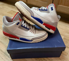Jordan Retro III 3 International Flight Sport True Blue Red White Cement Size 11