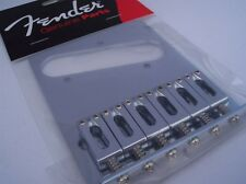 GENUINE FENDER Standard Series Telecaster Bridge Fits Modern Mexican Tele