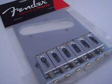 GENUINE FENDER Standard Series Telecaster Bridge Fits Modern Mexican Tele