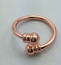 NEW! Women's 3 INCH MAGNETIC THERAPY ADJUSTABLE RING: Copper.