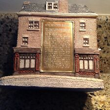 The Shelock Holmes by Malcolm Cooper/1985 hand made, hand painted & signed.
