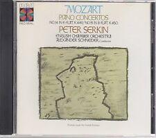 Peter Serkin/Schneider MOZART Concerto 14/15 RCA RCD1-1492 Made in Japan No IFPI