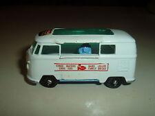 Vintage Matchbox   No.34 CUSTOMIZED VW Camper >> Lyons Maid Ice Cream Truck