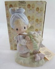 Precious Moments E-3111 Be Not Weary in Well Doing Girl with Laundry NEW Box 79