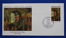 Marshall Islands (484) 1994 WWII: Rome Falls to the Allies Official FDC