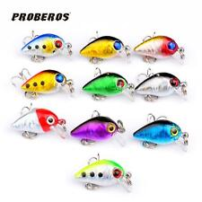 1PC fishing lures 3CM/1.5G Mini fishing bait 1 hook 10 color Fishing Tackle ST