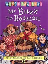 NEW - MR BUZZ the BEEMAN - HAPPY FAMILIES by Allan Ahlberg (original cover)