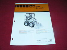 Case 1816C Hydrostatic Uni Loader Skid Steer Dealer's Brochure UD88981