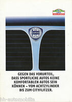 Lancia Prospekt 4/88 brochure 1988 Thema Prisma Delta Y10 Broschüre prospetto