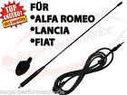 Alfa Romeo Fiat Lancia Autoradio Antenna Mast Tetto Incluso. Cavo