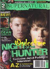 Supernatural The Official Magazine #2 Jensen Ackles Jared Padalecki CW WB TV