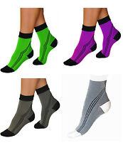 Elastic Sports Activ Compression Kurzstrümpfe Stockings Socks short 0406