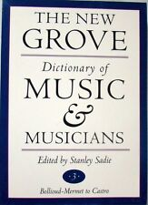 THE NEW GROVE DICTIONARY OF MUSIC AND MUSICIANS - VOL. 3 ONLY! - STANLEY SADIE