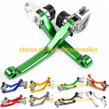 For Kawasaki KX125 1990-2005 / KX250 1990-2004 CNC Pivot Brake Clutch Lever Set