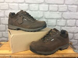 BRASHER MENS COUNTRY ROAMER BROWN LEATHER WALKING SHOES RRP £135 MANY SIZES