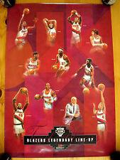 RaRe Poster Portland Trailblazers Legendary Line up Walton Drexler Lucas Porter