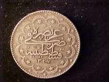 TURKEY 10 KURUSH AH 1327+9
