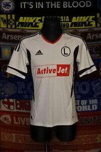 5/5 Legia Warszawa adults S 2012 MINT home football shirt jersey trikot soccer