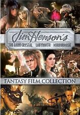 Jim Henson's Fantasy Film Collection Dark Crystal Labyrinth Mirrormask DVD R1