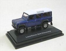 Modellini statici di auto, furgoni e camion blu scala 1:72