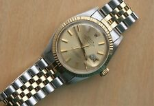 1968 Rolex 1601 Datejust 14K Stainless Excellent