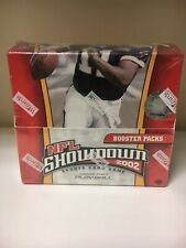 2002 NFL SHOWDOWN Sports Card Game 1st Edition Box Factory sealed 36 packs