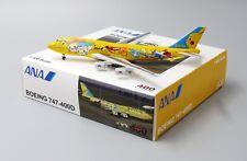 """ANA B747-400D """" PIKACHU JUMPO """" JA8957 Bigbird model 1:400 Diecast BB4-2017-001"""