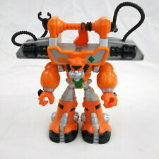 """Mattel Rescue Heroes Action Figure Diver Robot 2004 9"""" Tall #C7463 Jointed"""