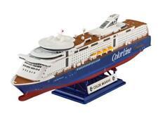 M/S Color Magic Cruise Ship Nave Crociera Plastic Kit 1:1200 Model REVELL