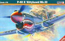 P-40 K KITTYHAWK MK.III (RAF /112 SQN/, USAF & SOVIET AF MKGS) 1/72 MISTERCRAFT