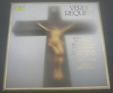 Verdi Requiem Abbado / Domingo / Ricciarelli  DGG 2707 120 2 LP BOX GERMANY
