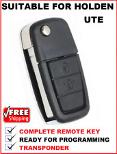 2B Remote Car Flip Key suitable for Holden Commodore ute VE HSV  SS 2006 - 2013
