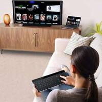 New Wireless Touch Keyboard With Built-in Large Trackpad Mouse For Smart TV!!