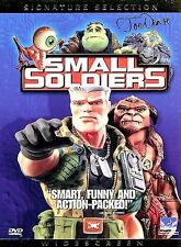 Small Soldiers (DVD 1998 WS Signature Selection) Kirsten Dunst, Hartman LIKE NEW